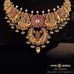 Gorgeous Gold Lakshmi Necklace From SVTM