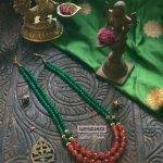 Handcrafted Beaded Necklace From Abharanam