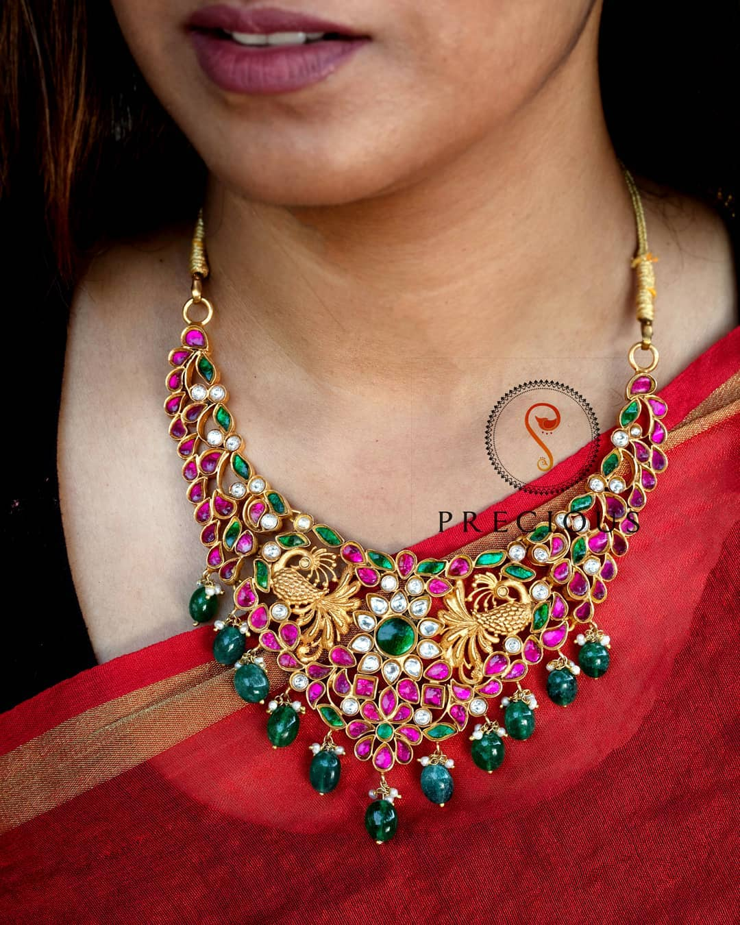 Kundan Puresilver Necklace From Precious And You