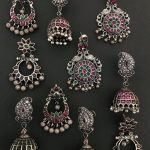 Pretty Silver Earring Collections From Prade Jewels