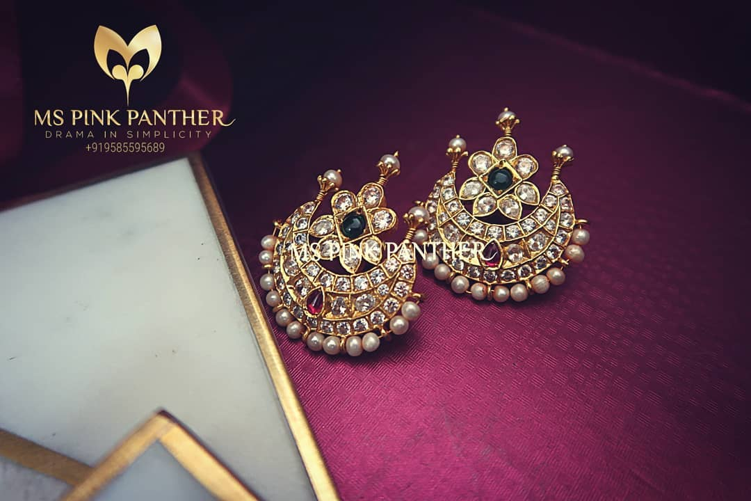 Stunning Earstud From Ms Pink Panthers