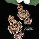 Stylish Silver Earring From Bandhan