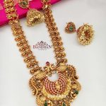Alluring Peacock Necklace From Bandhan