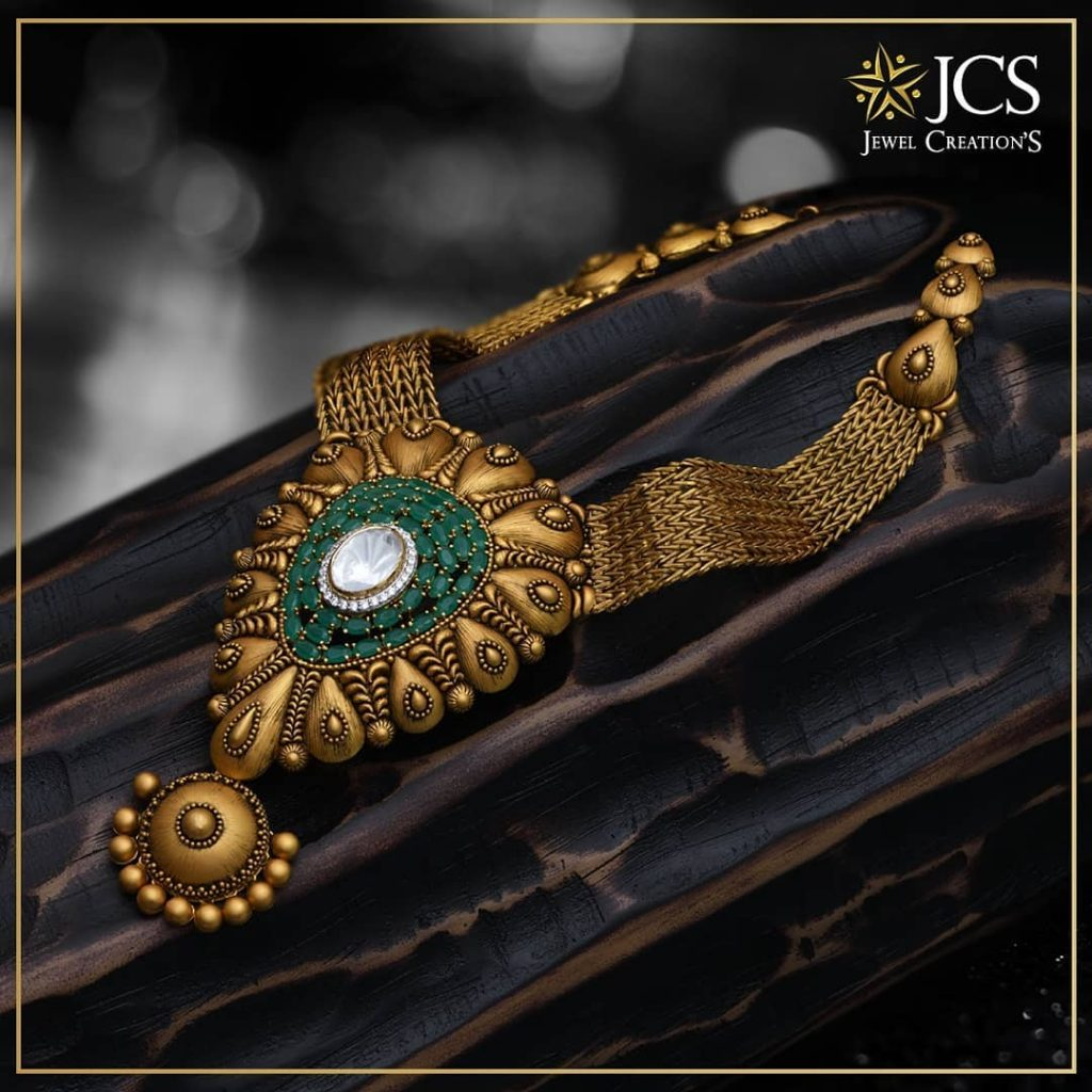 Attractive Antique Necklace From JCS Jewel Creations