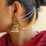 Beautiful Bridal Jhumkas And Mattal From Daivik