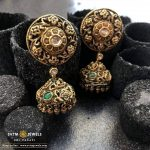 Beautiful Gold Jhumka From SVTM