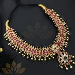 Classic Gold Plated Silver Necklace From Prade Jewels
