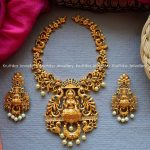 Cut Work Necklace From Kruthika Jewellery