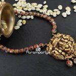 Cute Kundan Beaded Necklace From Parampariya