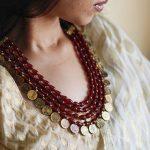 Decorative Beaded Necklace From Thulika