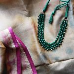 Fashionable Beaded Necklace From Thulika