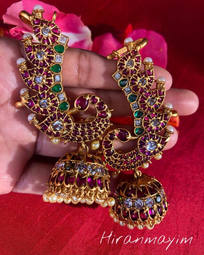 Gorgeous Kemp Cuff Earrings From Hiranmayim