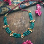 Pretty Beaded Necklace From Abharanam