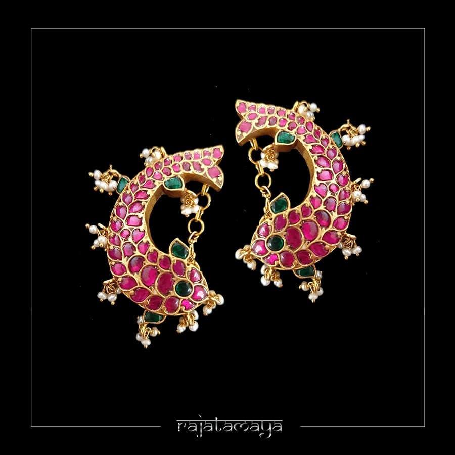Pretty Ear Cuff From Rajatamaya