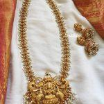 Pretty Pearl Lakshmi Haram From Emblish