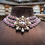 Radiant And Beautiful Diamond Choker From Mangatrai