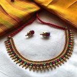 Spikey Stone Necklace From Nakshatra By Sha