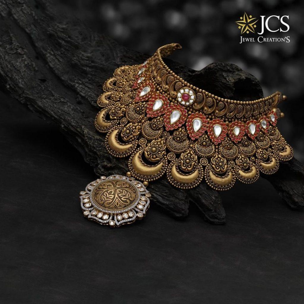 Splendid Designer Choker From JCS Jewel Creations