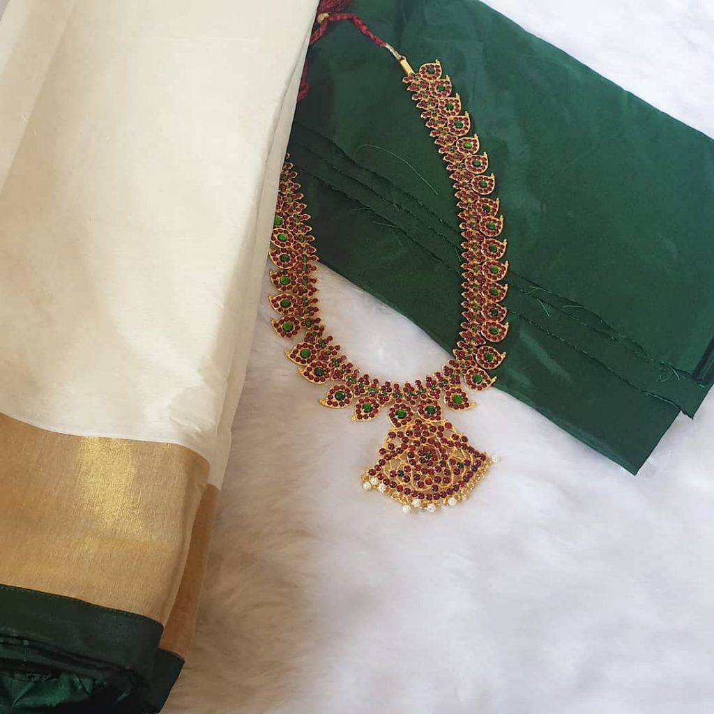 Traditional Mango Necklace From Vasah India