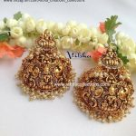 Traditional Temple Earring From Vibha Creations