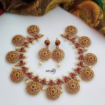 Adorable Kemp Coin Necklace Set From Aaryaah Designs