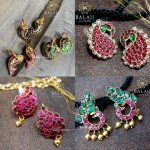 Attractive Silver Earring Collections From Balaji Silvers