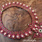 Beautiful Kundan Silver Necklace From Nakoda Payals