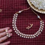 Classic Stone Necklace Set From Rasi Creations
