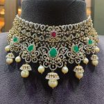 Delightful Diamond Choker From P.Satyanarayanan Sons