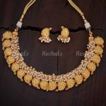 Fashionable Mango Necklace Set From Kushal's Fashion Jewellery