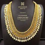 Grand Gold Necklace From Mangatrai Neeraj