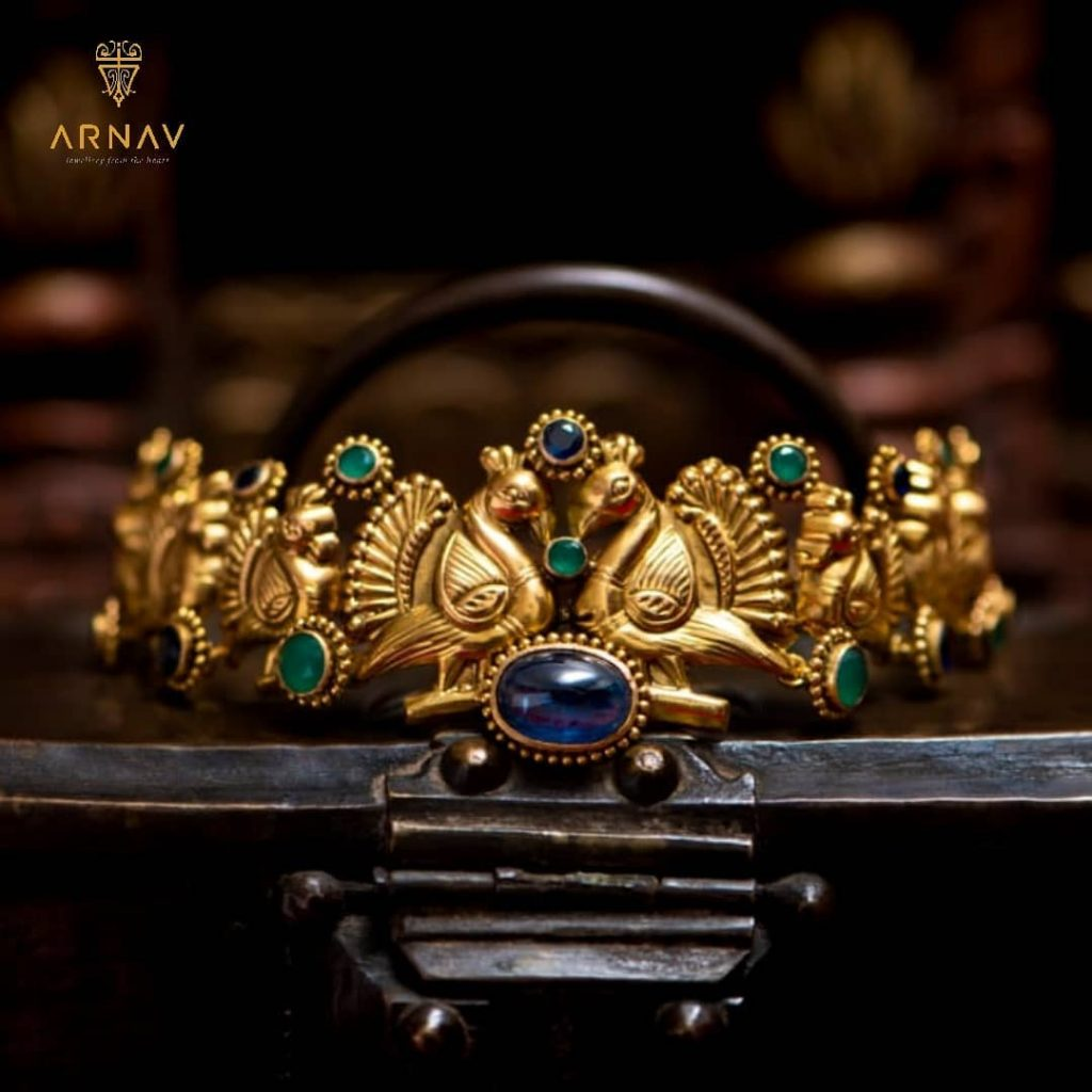 Hand Crafted Pure Gold Necklace From Arnav Jewellery
