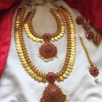 Lakshmi Coin Semi Bridal Set From Emblish