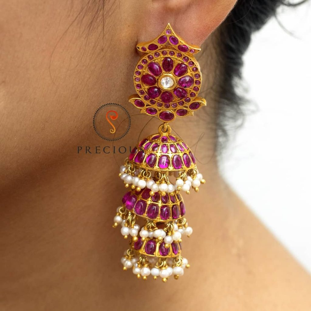 Precious Silver Jhumka From Precious And You
