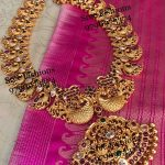 Traditional Silver Necklace From Sree Exotic Silver Jewelleries