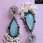 Trendy Silver Earrings From Balaji Silvers