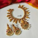 Adorable Laxmi Necklace Sets From Aaryaah Designs