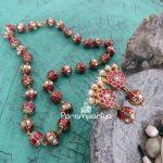 Amazing Silver Necklace Set From Parampariya