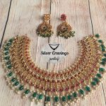 Beautiful Guttapusalu Choker Set From Silver Cravings Jewellery