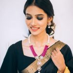 Designer Diamond Necklace From Aarni By Shravani