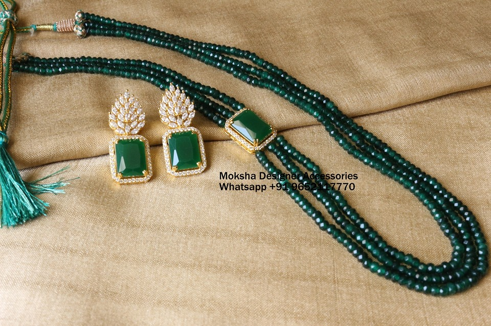 Decorative Layered Necklace From Moksha Desiger Accessories