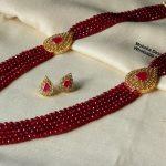 Designer Beaded Necklace Set From Moksha Designer Accessories