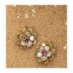 Designer Silver Earrings From Sukra Jewellery