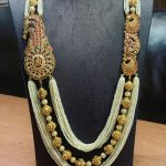 Elegance Gold Necklace From P.Satyanarayan & Sons Jewellers