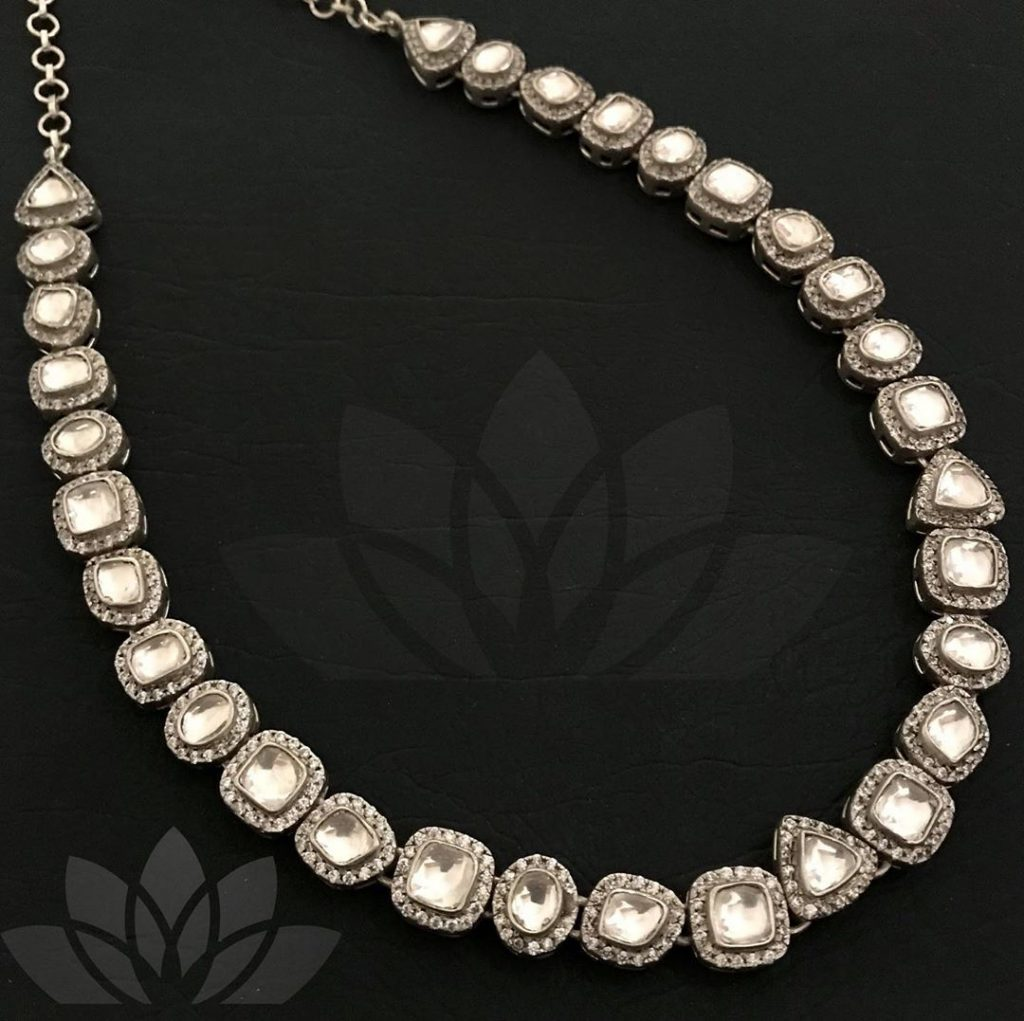 Elegant Silver Necklace From Prade Jewels