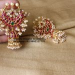 Ethnic Designer Jhumkas From Moksha Designer Accessories