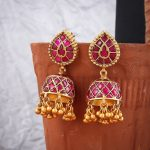 Ethnic Silver Jhumkas From 925Silver