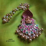 Ethnic Silver Necklace From Silver Sashti