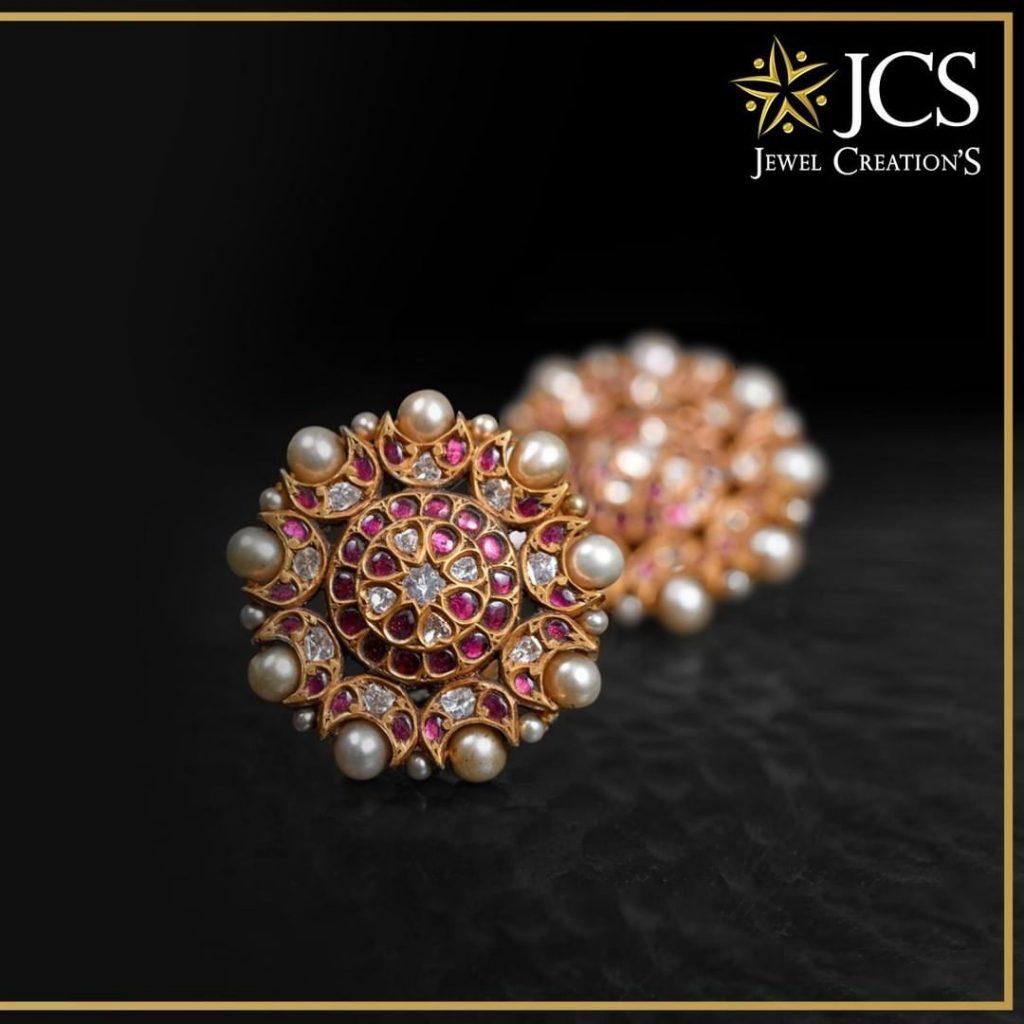 Eye Catching Ear Stud From JCS Jewel Creations