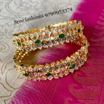 Eye Catching Silver Bangles From Sree Exotic Silver Jewelleries